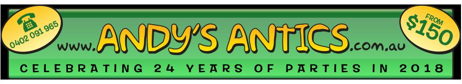 Andys Antics Logo